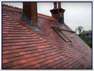 Farmhouse Red Sandtoft 20/20 Clay Interlocking Roof Tiles