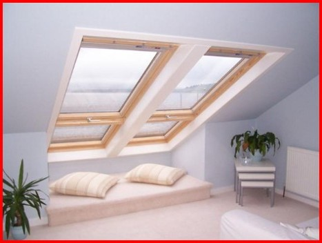 Velux fakro roof window installers in west lothian for Large skylights