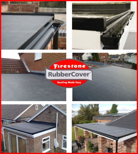 Firestone Rubber Roofing Co Epdm Flat Roofs In West Lothian