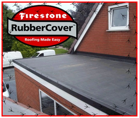 Single Ply Firestone Rubber Roofing Epdm Flat Roofing In